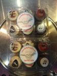 Bruce-themed mini cupcakes!