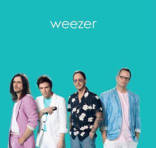 weezer-teal-album